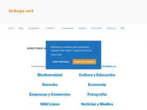 Cambio el directorio de INDAGA: ahora en indaga.net y bajo WordPress