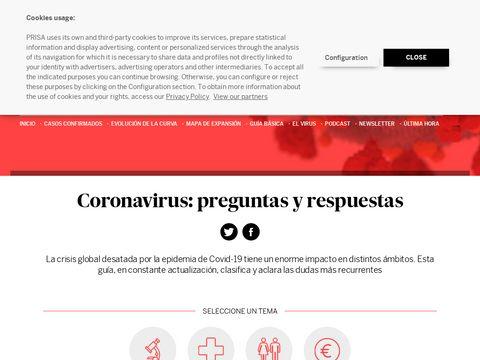 Coronavirus: preguntas y respuestas