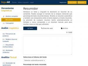 resumidor - directorio indaga