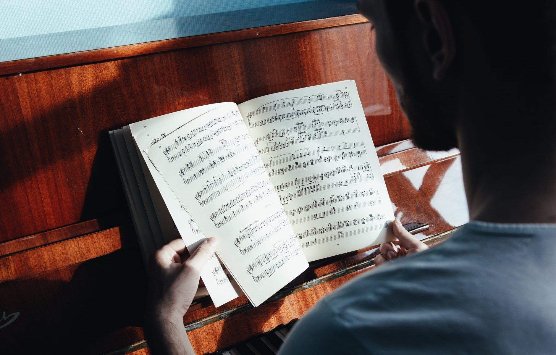 partituras piano